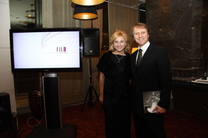 Na snímke Ivan Hronec so Silviou Hroncovou