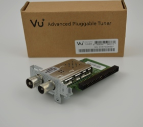 Nový DVB-T2 tuner pre prijímače VU+ DUO2, VU+ Ultimo a VU+ Uno