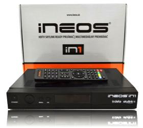 Recenzia: iNEOS iN1 – HD prijímač s jednou licencovanou čítačkou kariet Irdeto