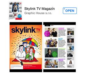 Skylink TV magazín už aj pre iOS a Android zariadenia