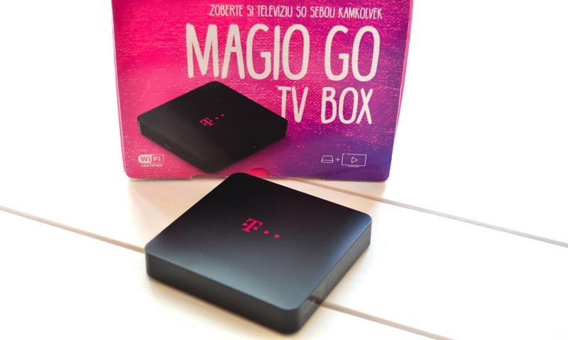 Magio Go TV box – prenosný se-top-box od Telekomu